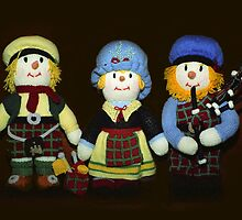 McScarecrow Family by Bev Pascoe