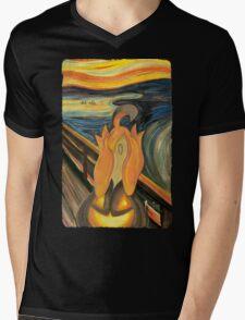 The Screech Mens V-Neck T-Shirt