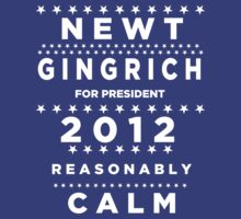 Newt Gingrich - Reasonably Calm by BNAC - The Artists Collective.