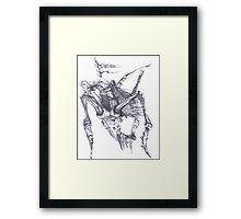Athena and Crilt Framed Print
