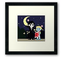 The nightmare before Sherlock Framed Print