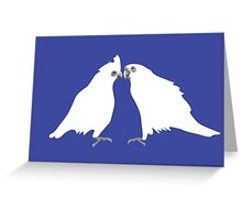 Corellas Greeting Card