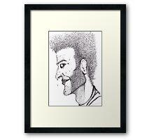 Mr Green Framed Print