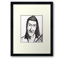 Mr Bossi Framed Print