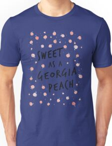 Sweet as a Georgia Peach Unisex T-Shirt