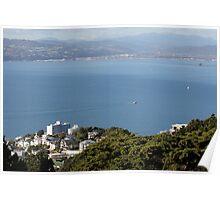 Wellington Harbour Poster