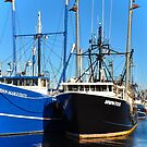 Fishing boats series by Poete100