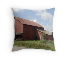 Northern Indiana Farm Country Throw Pillow