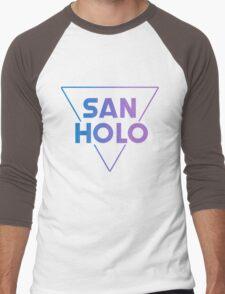SanHolo Men's Baseball ¾ T-Shirt