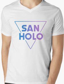 SanHolo Mens V-Neck T-Shirt