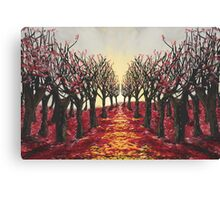 Redrum in the Trees Canvas Print