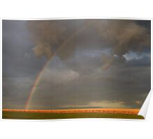 Country Rainbow Poster