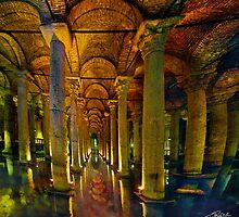 Basilica Cistern by Ted Byrne