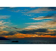 Sunset5. Photographic Print