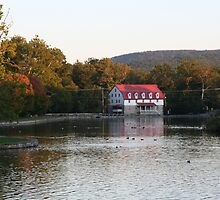 The Childrens' Lake and Grist Mill - Boiling Springs, PA by searchlight