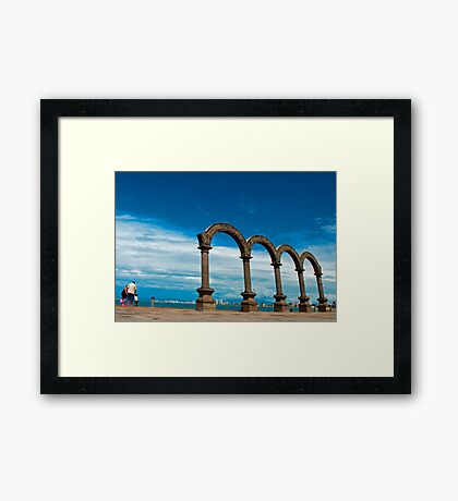 The Arches. Framed Print