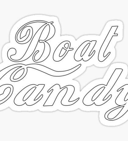Boat Candy Sticker