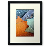 The Slopes of Mt.Orange Framed Print