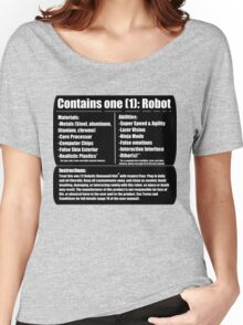 Robotic Humanoid (tm) Women's Relaxed Fit T-Shirt
