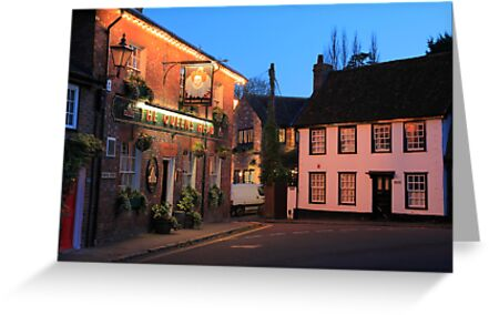 The Queens Head, Chesham, Buckinghamshire by Ian Jones