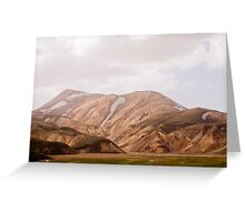 on the laugavegur Greeting Card