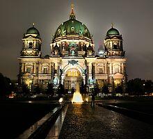 Historic Berliner Dome in Berlin Germany by pdsfotoart