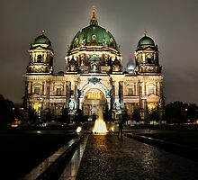 Historic Berliner Dome in Berlin Germany by pdsfotoart