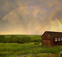 Rainbow Evening by DChungaPhoto