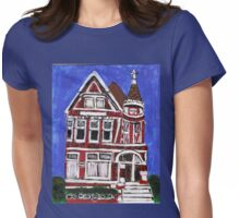 Red Victorian in Pacific Heights(San Francisco) Womens Fitted T-Shirt