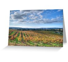 Vines in Fields Greeting Card