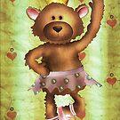 Ballet Bear by Kristy Spring-Brown