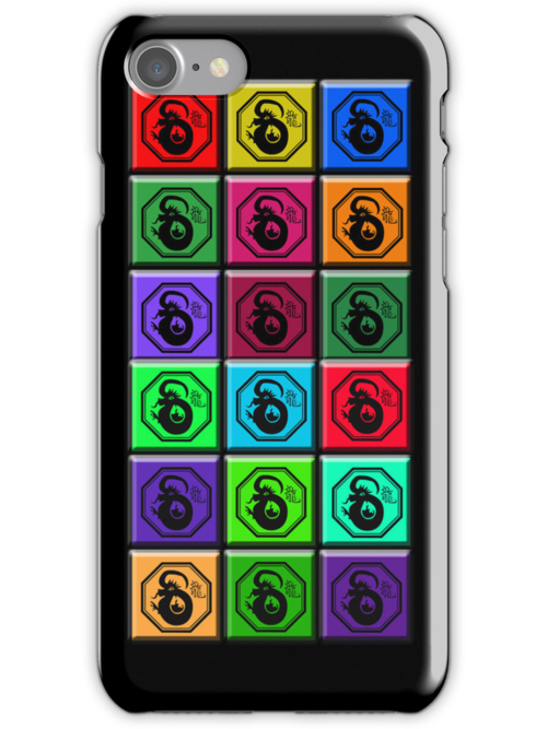 Pop Art Year of the Dragon Cell Phone Case by Greenbaby