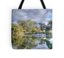 Winery Pond Tote Bag