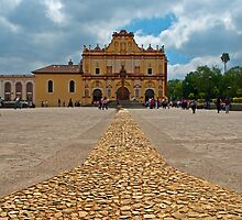 Cathedral, San Cristobal de las Casas, Mexico by bulljup