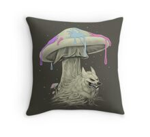 Wolfroom Throw Pillow
