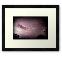 Fork Lightning -2 Framed Print