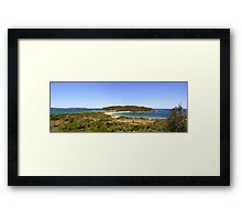 Broulee Island Panorama Framed Print