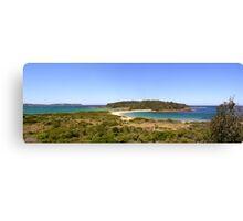 Broulee Island Panorama Canvas Print