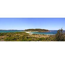 Broulee Island Panorama Photographic Print