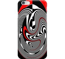 Red Lines IPhone Case iPhone Case/Skin
