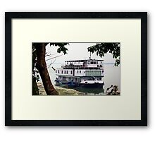 The RV Sukapha  Framed Print