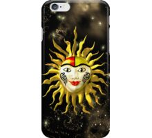 Sun Face IPhone Case iPhone Case/Skin
