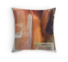 Magazine Page Mock-up Throw Pillow