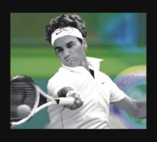 roger federer  One Piece - Long Sleeve