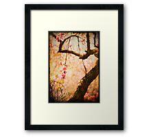 Cherry Tree Secret Garden Framed Print