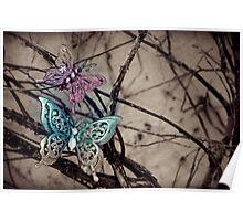 The Daniel and Rachel Butterflies Poster