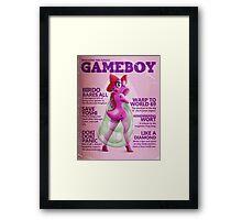 Gameboy Magazine: Birdo Framed Print