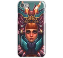 Rashah Queen Portrait iPhone Case/Skin