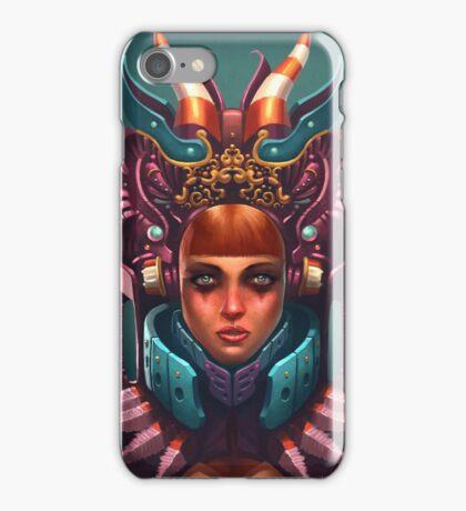 Rashah Queen Portrait iPhone Case/Skin
