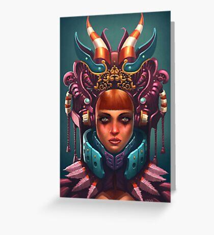 Rashah Queen Portrait Greeting Card